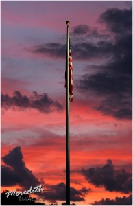 Flag & Sunset - MeredithImages-2