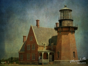 Block Island Lighthouse - 6 Flypaper Textures