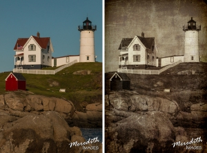 Nubble Light - web