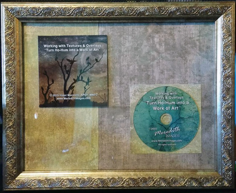 Framed CD