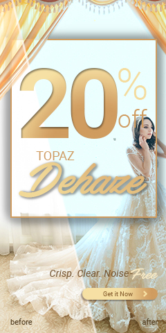 Topaz – New Promotion 2/12-2/18 – Dehaze | Meredith Images Blog
