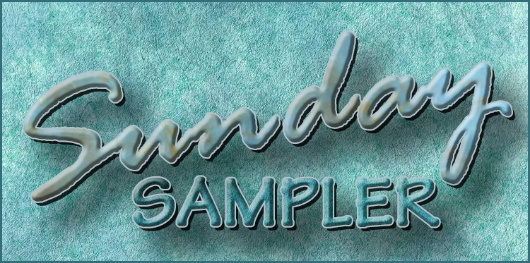 Sunday Sampler 01-19-2020